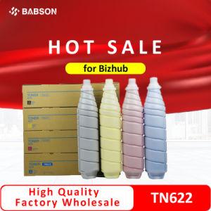 Toner Cartucho de impressora Tn-622ktn-622CTN-622mtn-622y Cartucho de toner Premium a Konica Minolta Bizhub Press C1085/6085/6110 cartucho jato de tinta