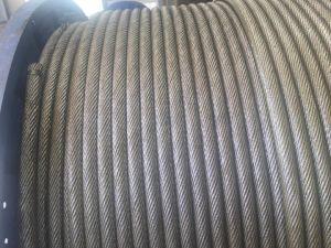 Polido ou cabo de aço Giratória 35WX7 Diâmetro: 30 mm