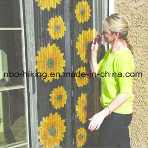 A magia de girassol Porta de malha de Cortina de Tela Cortina magnética