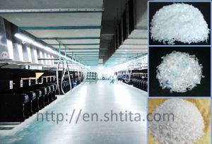Botella PET Flakes Spinning Línea de producción POY/ máquina de hilar FDY