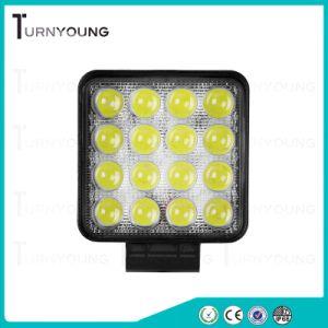Voiture de LED lumière LED de 4,3 pouces voiture 48W pour phares de travail off-road avec Spot Beam