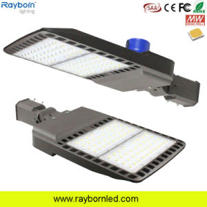 A fotocélula 100W 120W 150W 200W 250W 300W Área ajustável de Estacionamento Exterior de sapato Rua LED Light com classificação IP66 IK09
