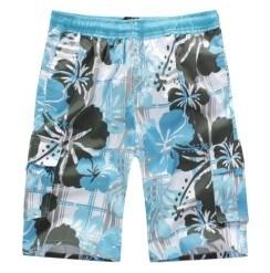 Pantaloni in pieno stampati 100% di modo degli uomini del poliestere (LOG-09L)