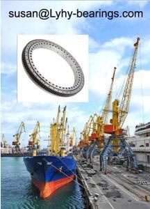 Grote Diameter 7397/2700 het Zwenkende Lager van de Draaischijf van de Ring Dragende die voor Mariene Kraan van de Kraan van de Kraan van de Haven de Mobiele wordt gebruikt
