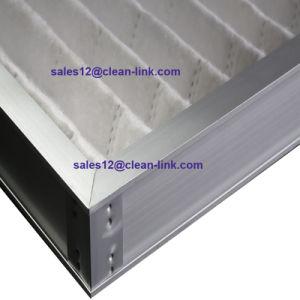 Filtro dell'aria pieghettato blocco per grafici di alluminio per condizionamento d'aria