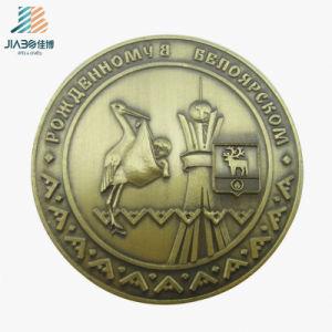 金属のクラフトの旧式な青銅色の習慣3Dの記念品の硬貨の円形浮彫り