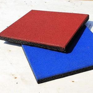 屋外の運動場のゴム製タイルまたは連結のゴム製床のマットまたは多彩なゴム製タイル