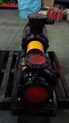 Eléctricos horizontales solo una etapa de proceso químico de succión de bomba centrífuga