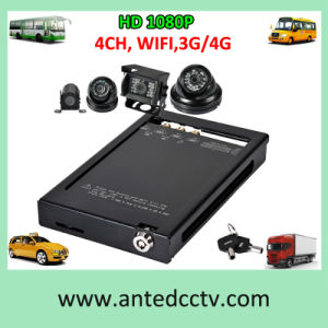 Phasensysteme 3G 4G GPS HD 1080P automobil CCTV-DVR für Flotten-Management