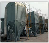 Volume d'air 1500-2100m3 Pulse sac collecteur de poussière (ISO approuvé)