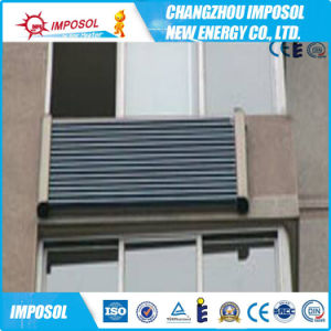 12 tubos U pressão do tubo coletor solar para a varanda (ReBa)