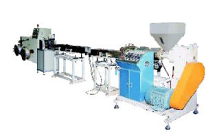 Plastic automatico Extruding Machine per Producing Plastic Coil Spiral