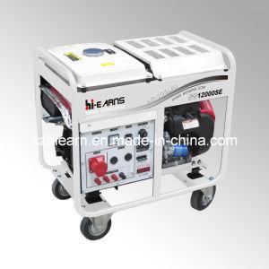 generatore raffreddato ad aria della benzina dei due cilindri 8kw (GG12000E)