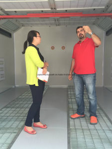 CE Large Spray Booth с Preparation Area