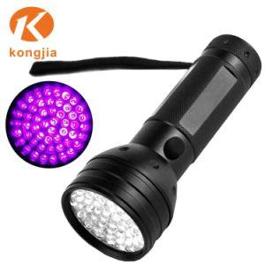 Torcia elettrica UV portatile di Blacklight 51 LED della torcia della luce ultravioletta della fabbrica