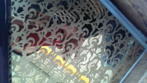 304標準第4は天井の装飾のための金のステンレス鋼シートをエッチングした