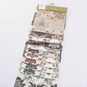 En el mercado europeo y americano de Poliéster teñido de sofá tapizado de tela jacquard para sofá