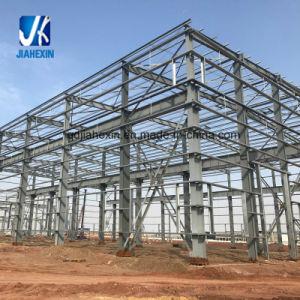 El tramo largo de la luz de la estructura de acero galvanizado de peso