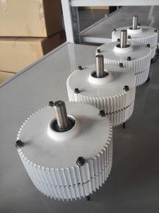 400W 12V/24V baixo - gerador de ímã permanente da C.C. da velocidade