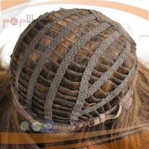 人間の毛髪の絹の上のユダヤ人のかつら(PPG-l-0681)