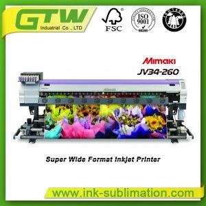 極度の印刷パフォーマンスのMimaki Jv34-260の大きいフォーマットプリンター
