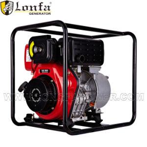 pompa ad acqua diesel portatile 4inch 9HP per uso del blocco per grafici