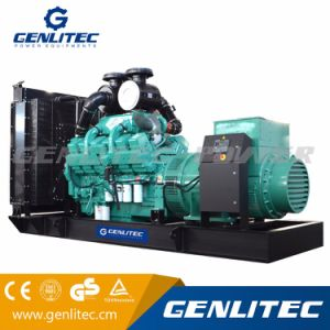 Genlitec力(GPC1000)のCummins Kta38-G5の1000kVAディーゼル発電機
