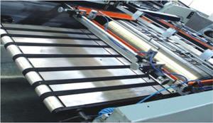 Paragem automática do cilindro rotativo máquina de impressão de tela 102*72cm