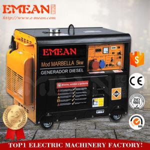 6 квт, 100% меди, молчание, дизельный генератор (CE)
