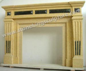 De Open haard van de Steen van de hoogste Kwaliteit voor de Decoratie van het Huis (sk-2374)