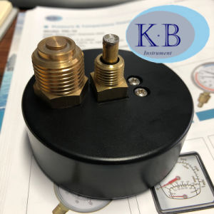 De industriële Wijzerplaat van het Gebruik. de Thermometer van de Temperatuur van de Druk van 63mm