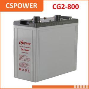 Качество Excellant 2V800ah Гелиевый аккумулятор для тракторов Powr Солнечной системы