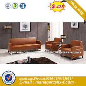Office utilisés châssis métallique canapé en cuir de loisirs (HX-8N1118)
