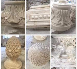 庭の景色のための大理石または花こう岩の石の切り分けるか、または手によって切り分けられる彫刻