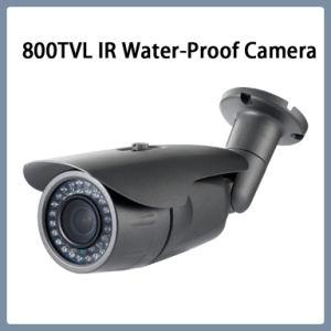 800tvl Camera van de Veiligheid van de Kogel van kabeltelevisie van IRL de Waterdichte (W27)