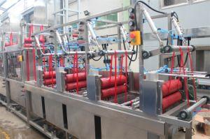 Nastri di nylon ad alta velocità rifinitrice continua e di tintura del raso