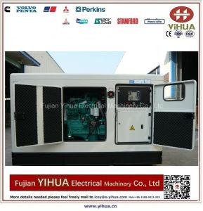 generatore diesel silenzioso di 150kw/187.5kVA 50Hz alimentato da Cummins Engine-20171017f