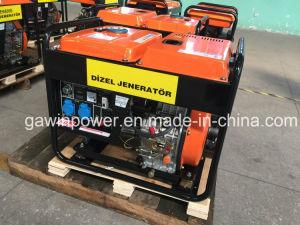 5kVA draagbare Diesel Generator met Lucht Gekoelde Motor