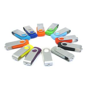 Поворотный флэш-накопитель USB 16 ГБ с логотип