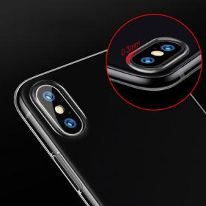 中国のiPhone X 10のための卸し売り高品質のゆとりTPUの携帯電話の箱