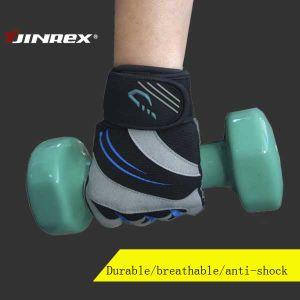Guanti mezzi di addestramento di ginnastica di allenamento della strumentazione di sport di sollevamento di peso della barretta di forma fisica