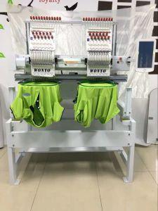 Wonyo Alta Velocidade 2 Computadorizado Cabeça T-shirt máquina de bordado