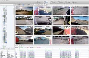 Táxi do barramento do carro a gestão da frota de caminhões segurança GPS 4G Mobile DVR