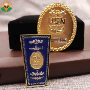 Loja preço de fábrica personalizada desafio duplo Militar Medalha de Ouro de metal para Oferta Promocional