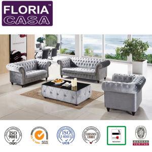 Sala de Estar moderno clássico mobiliário sofá de tecido