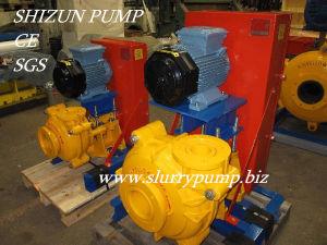 Hohe Chrom-Legierungs-horizontale zentrifugale Schlamm-Pumpe
