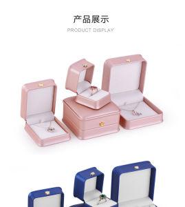 Nouveau coffret à bijoux de la Couronne Slim PU Boîte à bijoux Boîte de sonnerie