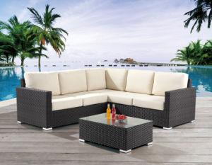 Patio Jardin meubles en osier / Rattan Sofa Set - Meubles de jardin (LN-400)