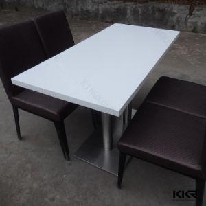 Пятно устойчив к твердой поверхности современный обеденный стол