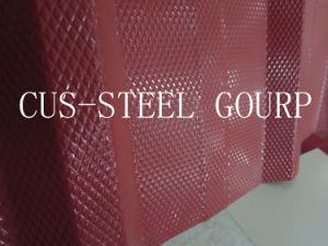 ナイジェリアのダイヤモンドパターン鋼板かダイヤモンドはPrepainted鋼鉄コイルを浮彫りにした